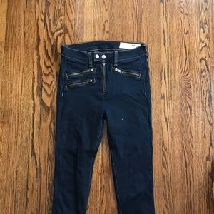 Detailed rag and bone jeans